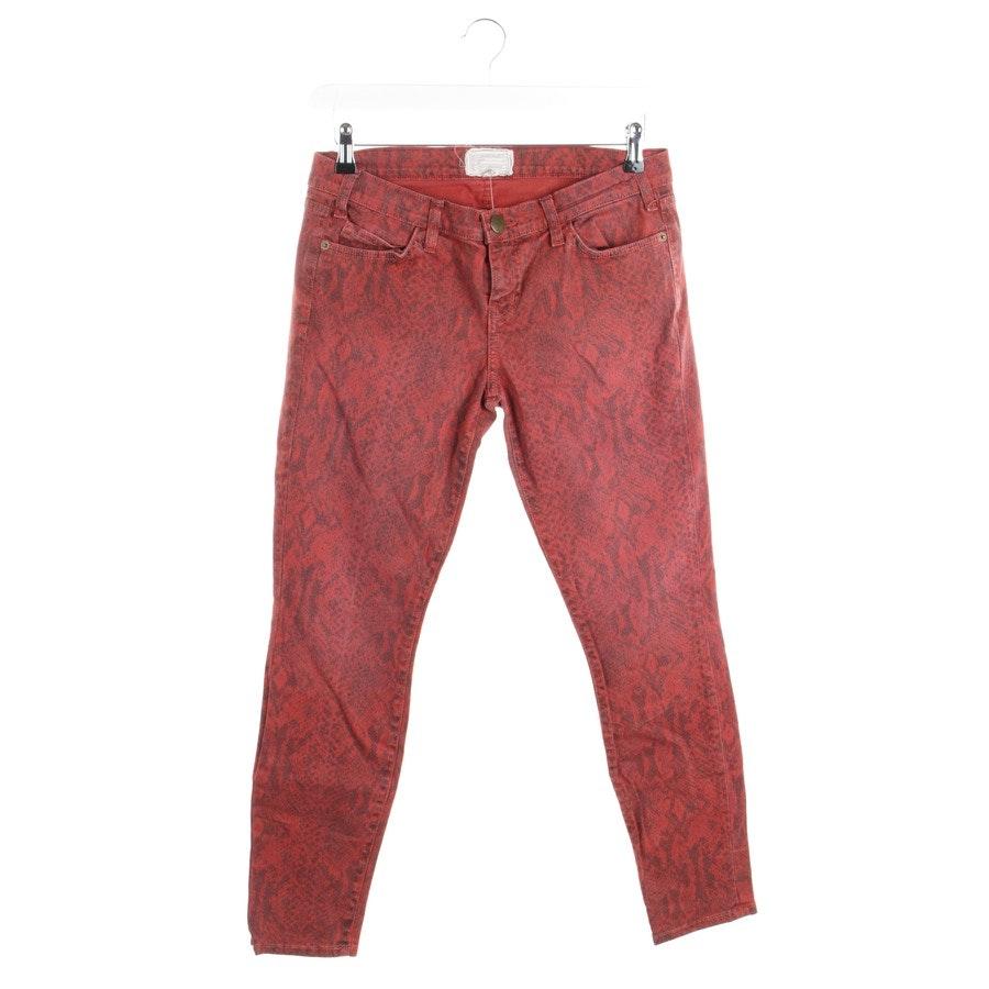 Jeans von Current/Elliott in Rot und Schwarz Gr. W29