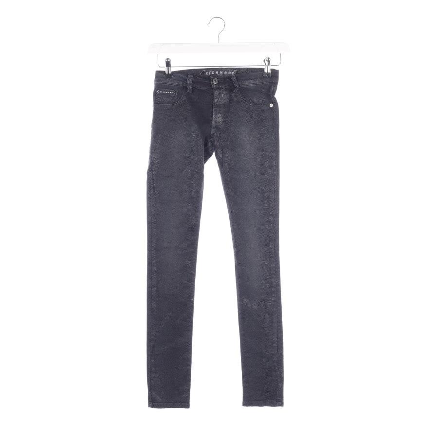 Jeans von John Richmond in Schwarz Gr. W25 Neu