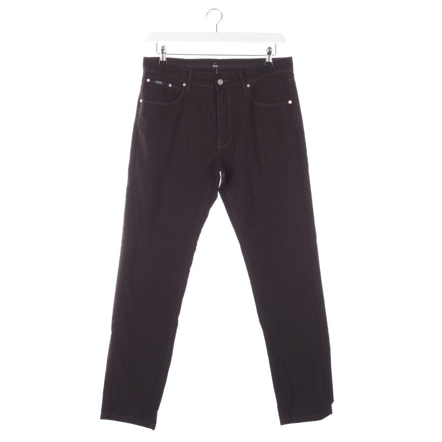 Jeans von Hugo Boss Black Label in Mahagoniebraun Gr. W34