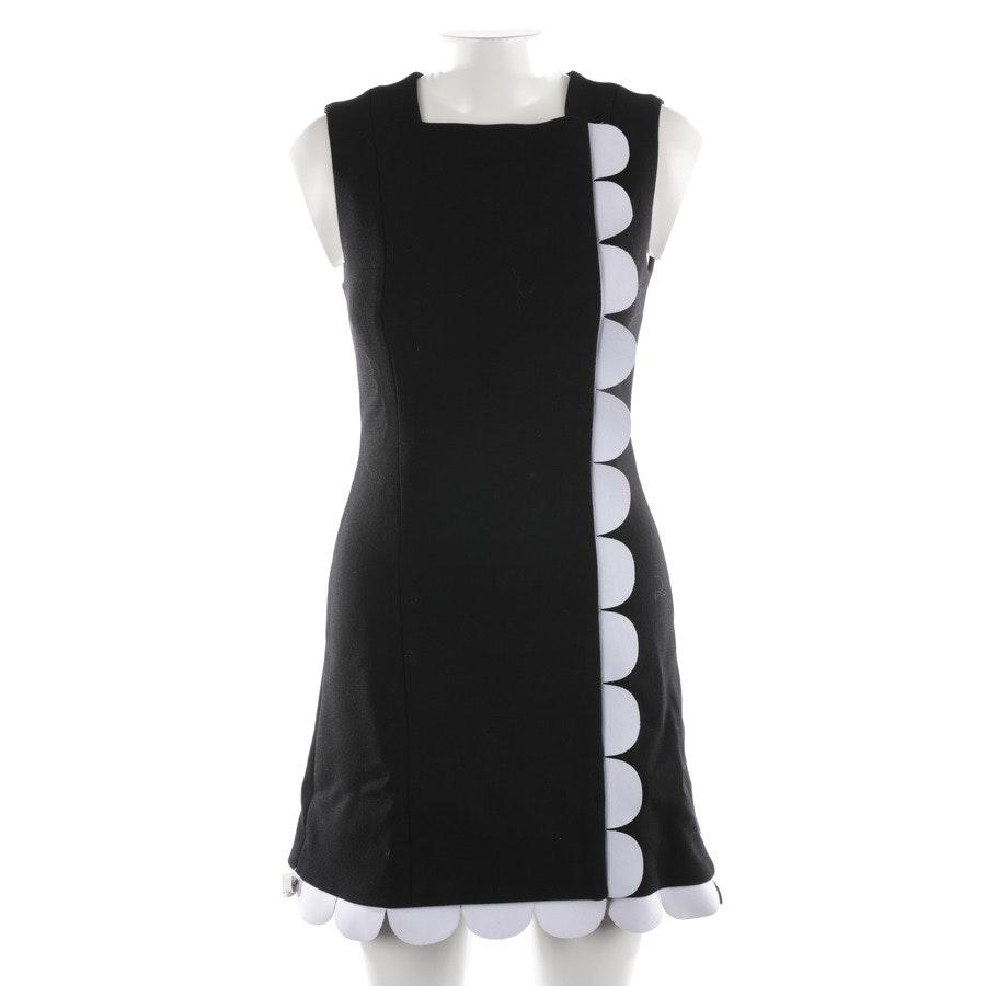Wollkleid von Victoria Beckham in Schwarz und Weiß Gr. 34 UK 8