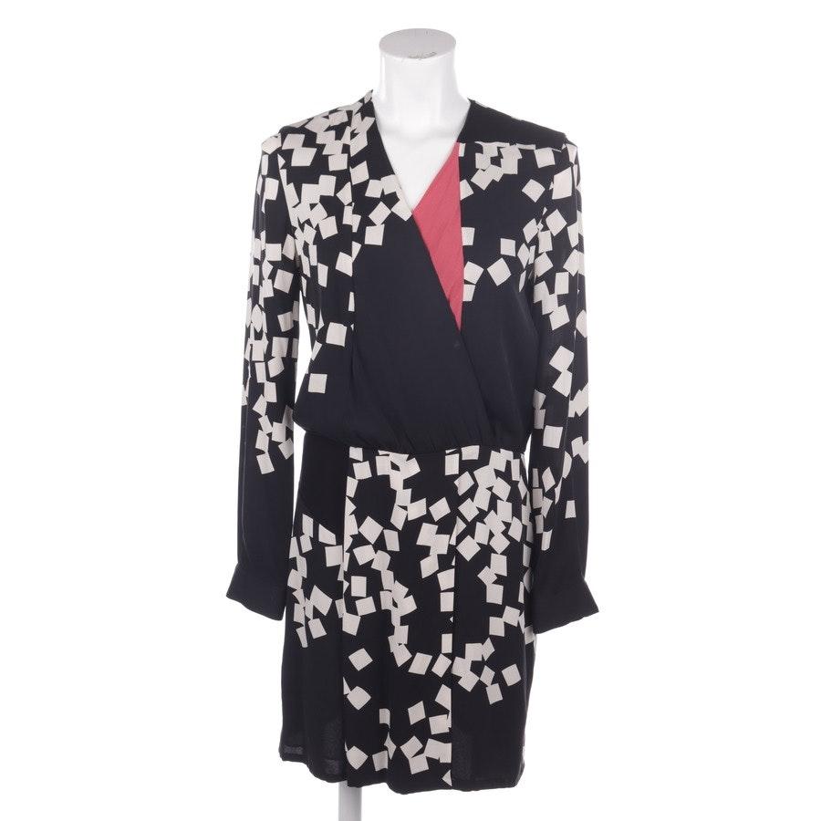 Kleid von Diane von Furstenberg in Schwarz und Weiß Gr. 38 US 8