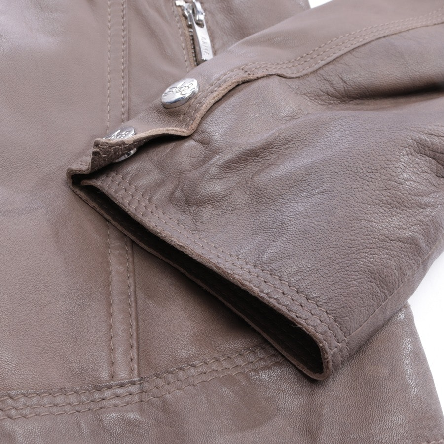 leather jacket from ARMA in nougat size 38