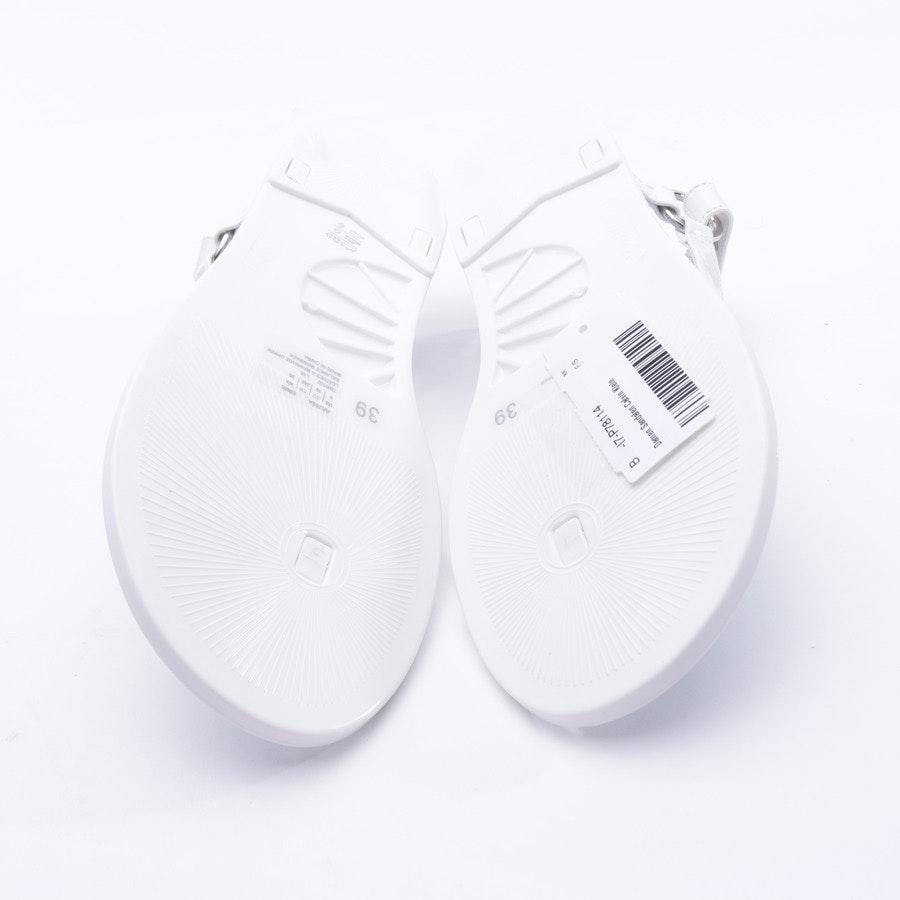 Sandalen von Calvin Klein in Weiß Gr. 39 EUR Neu