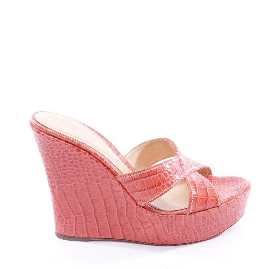 Sandaletten von Sergio Rossi in Lachs Gr. 39,5 EUR