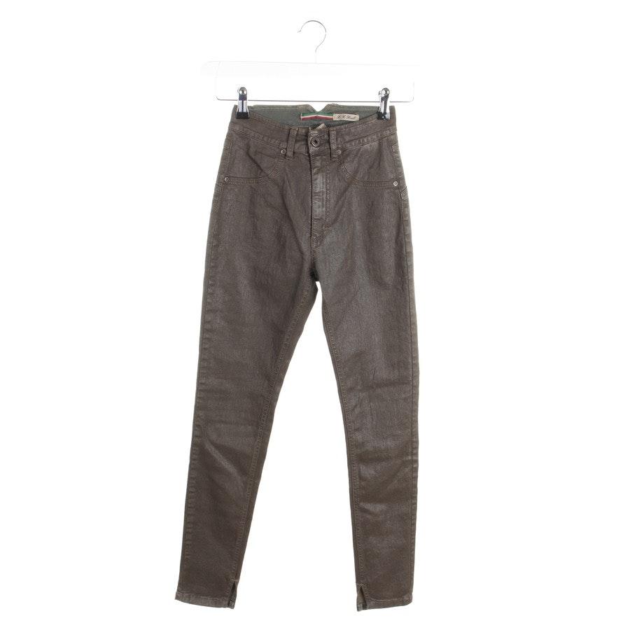 Jeans von Please in Braun Gr. 2XS