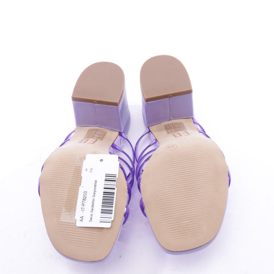 Sandaletten von By Miista E8 in Violett Gr. 35 EUR Neu