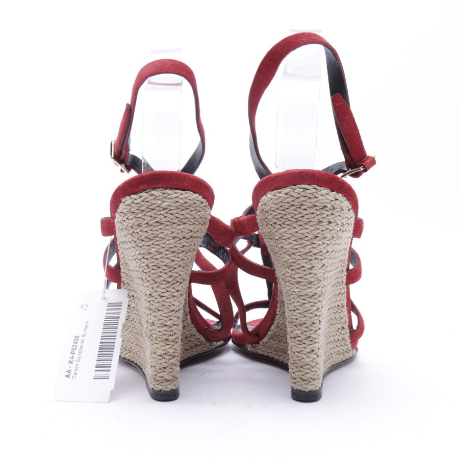 Wedges from Burberry in Bordeaux size 37,5 EUR New
