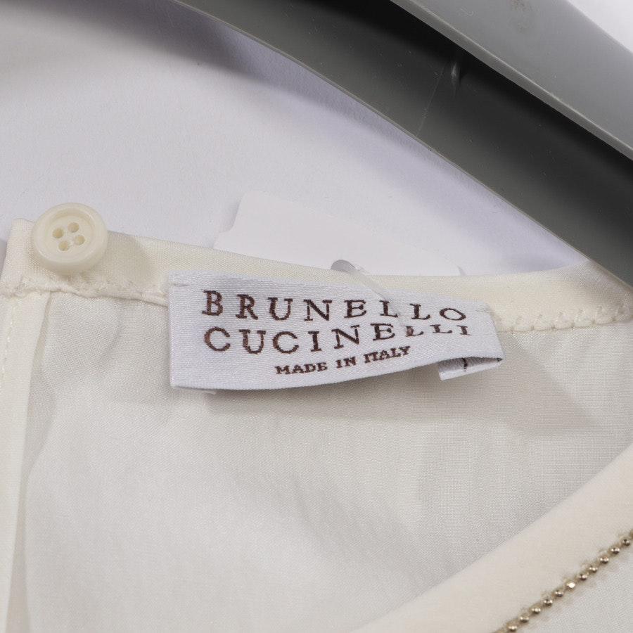 Blusentop von Brunello Cucinelli in Weiß Gr. S