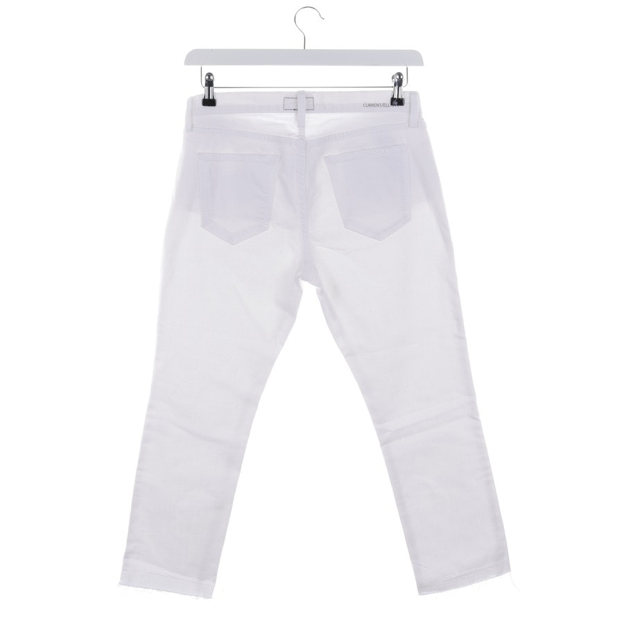 jeans from Current/Elliott in white size W28