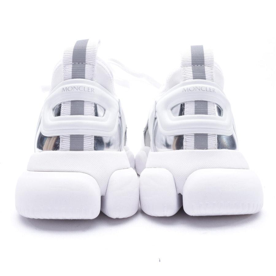 Sneakers von Moncler in Weiß und Silber Gr. 38,5 EUR Neu