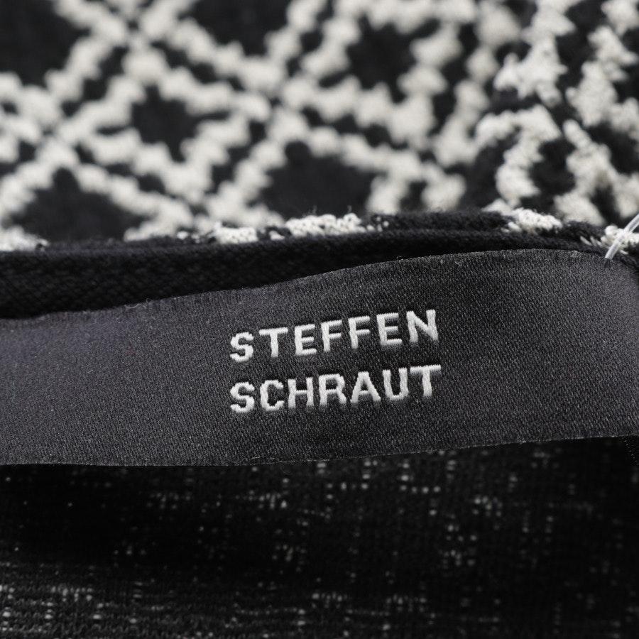 Kleid von Steffen Schraut in Schwarz und Weiß Gr. 36