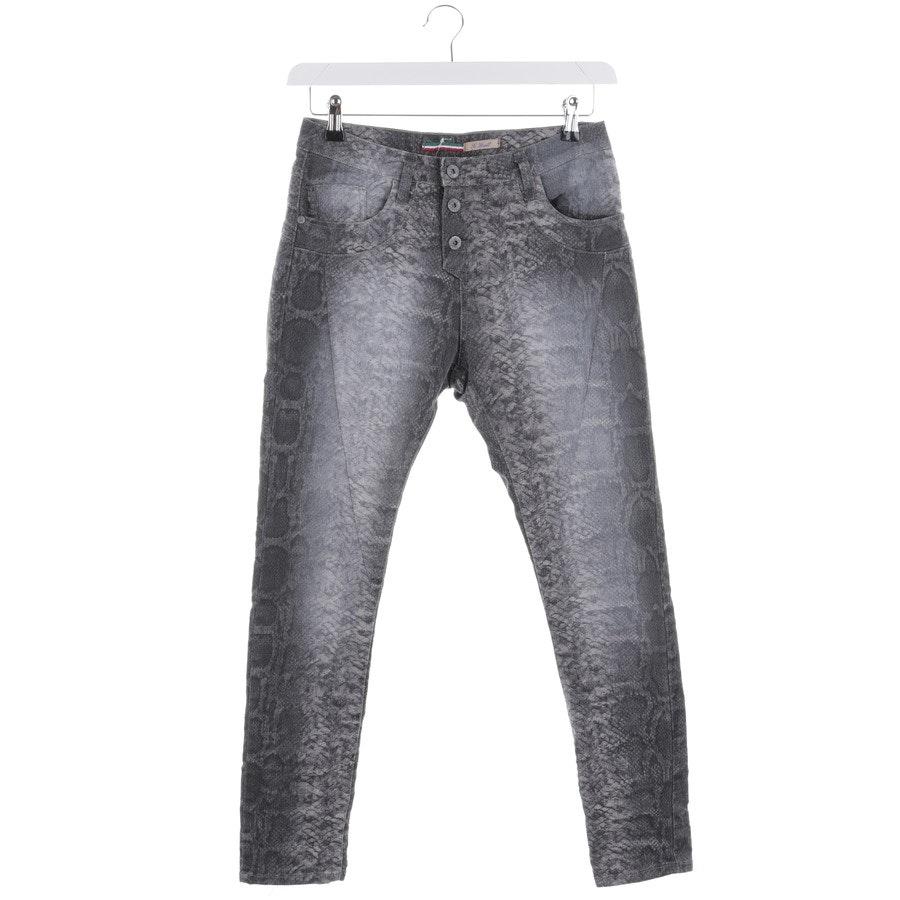 Jeans von Please in Graublau Gr. XS