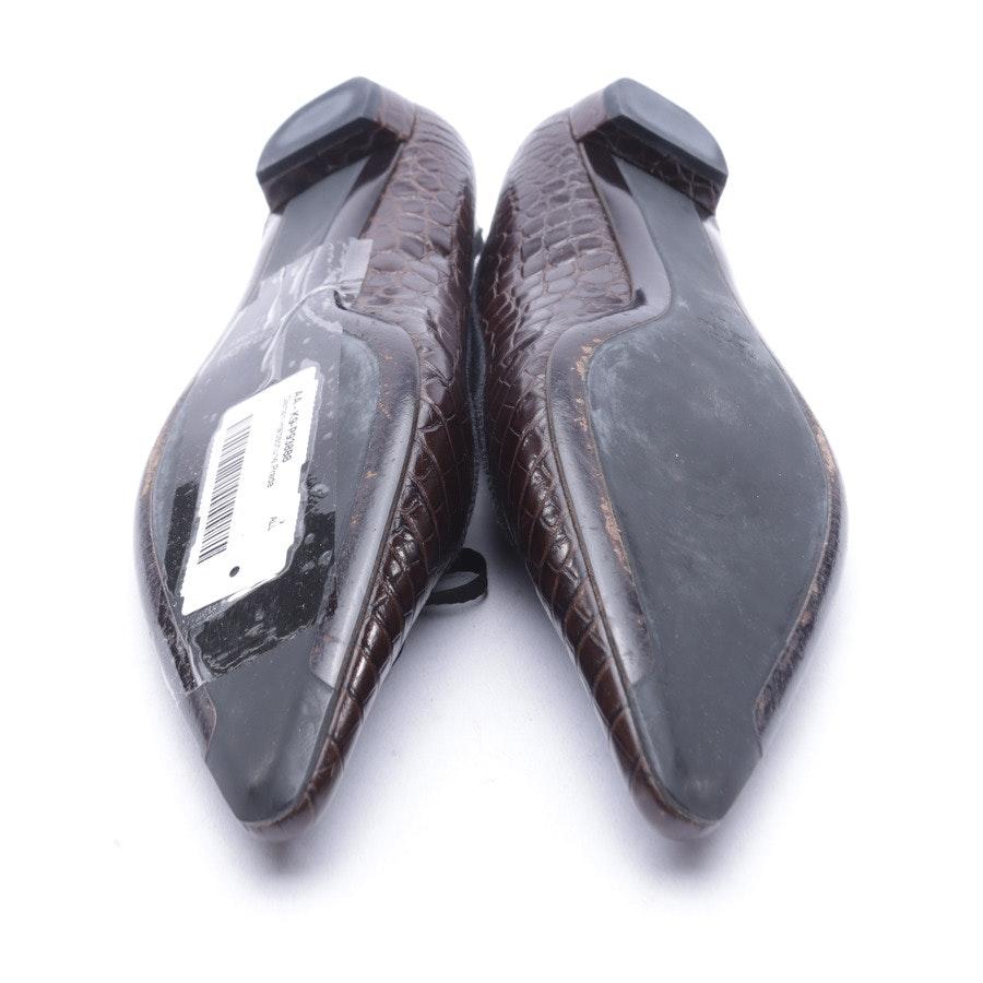Ballet Flats from Prada in Dark brown size 41 EUR