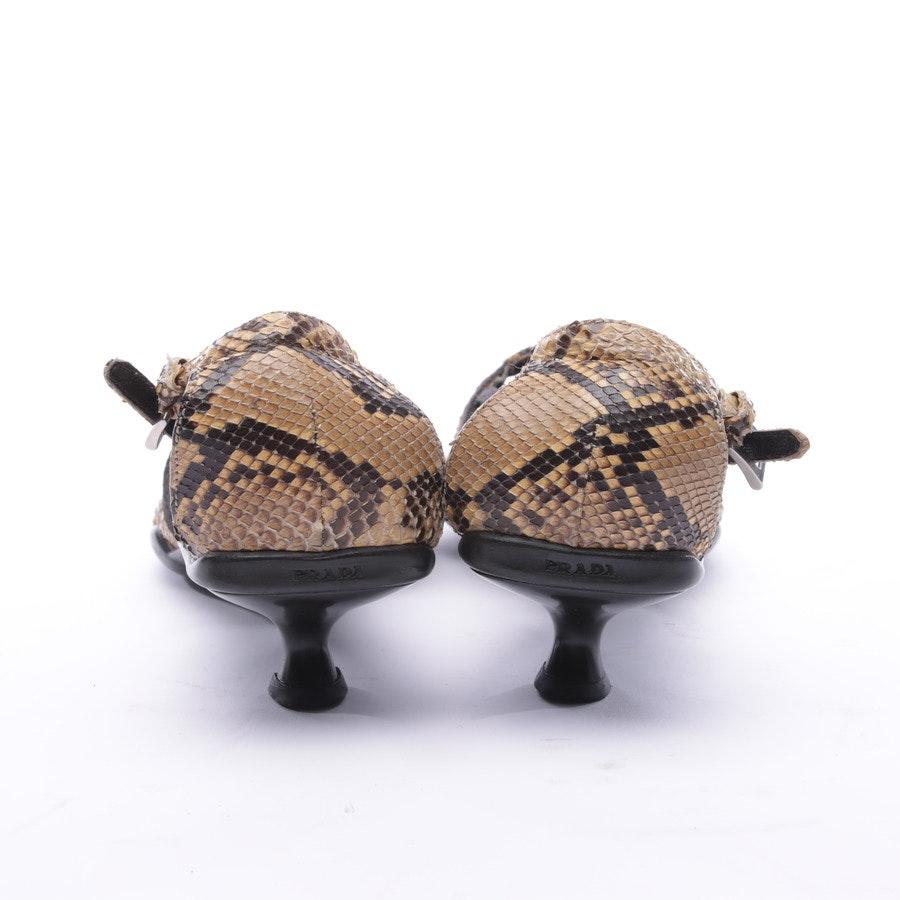 High Heels from Prada in Black and Sandybrown size 37 EUR