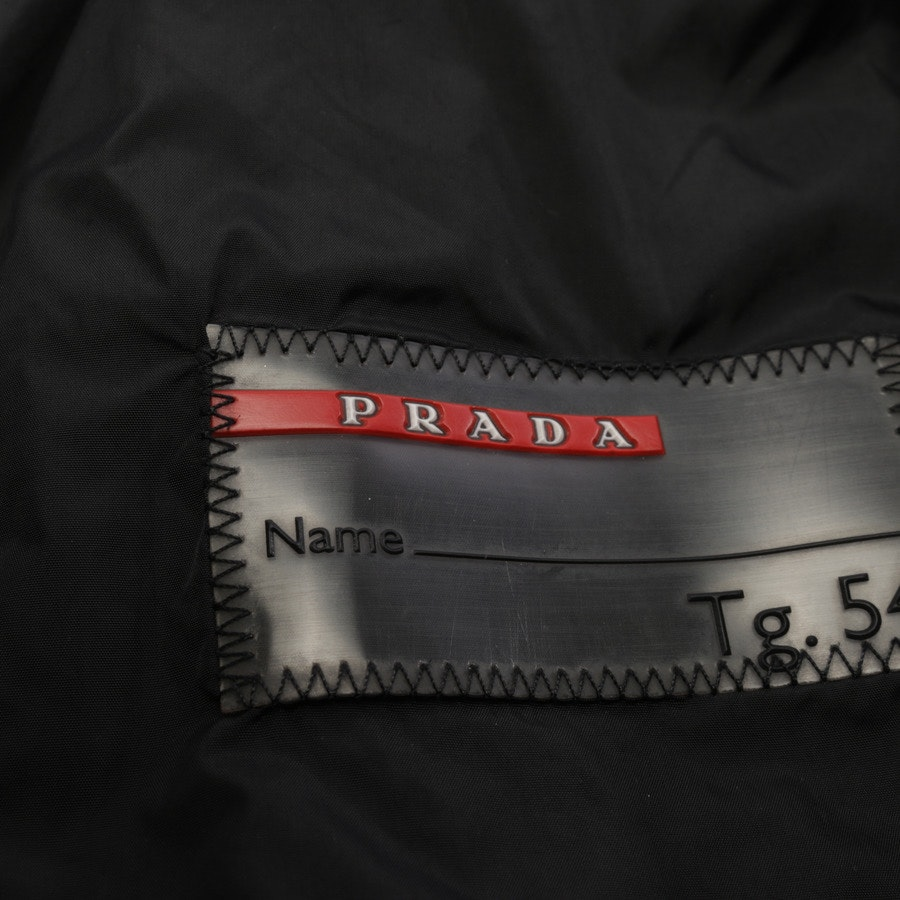 Leather Jacket from Prada in Black size 54