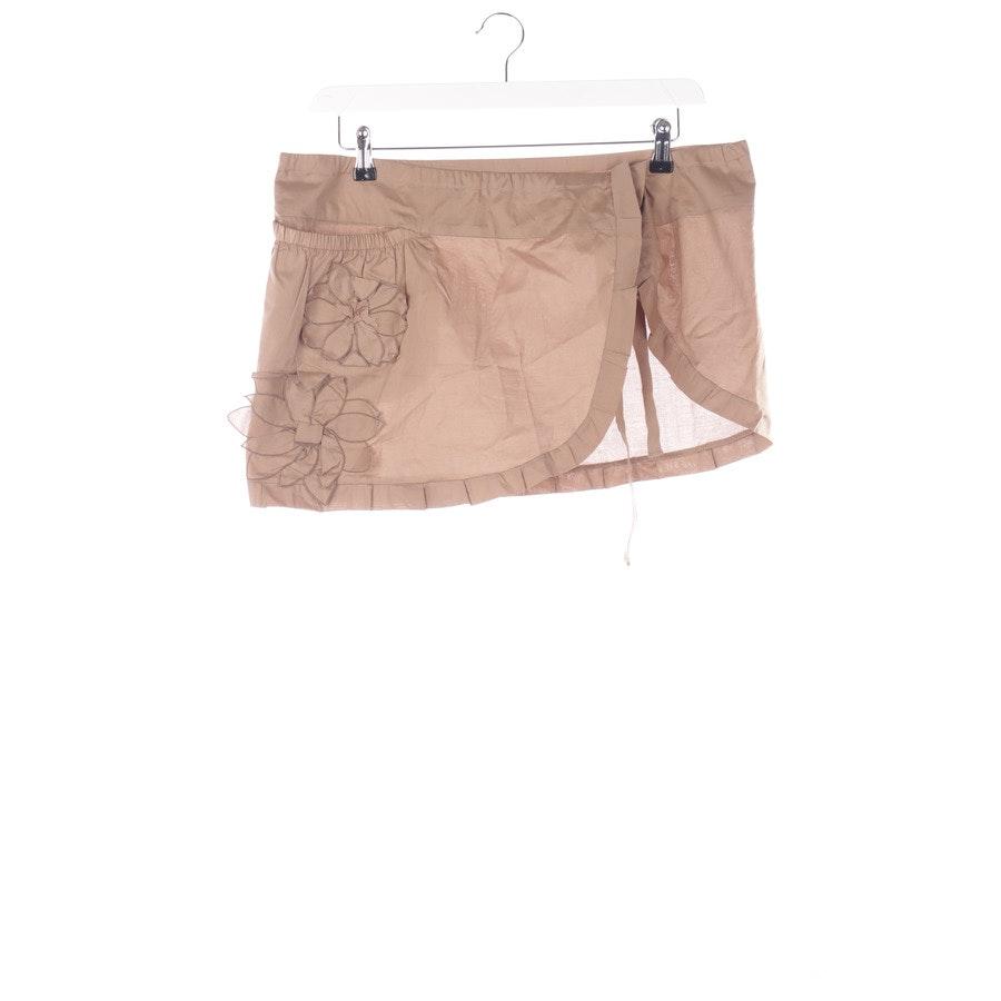 Mini Skirt from Prada Linea Rossa in Bronze size S