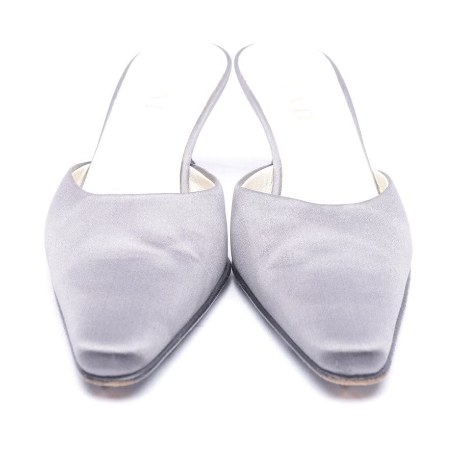 Mules from Prada in Lightgray size 37,5 EUR
