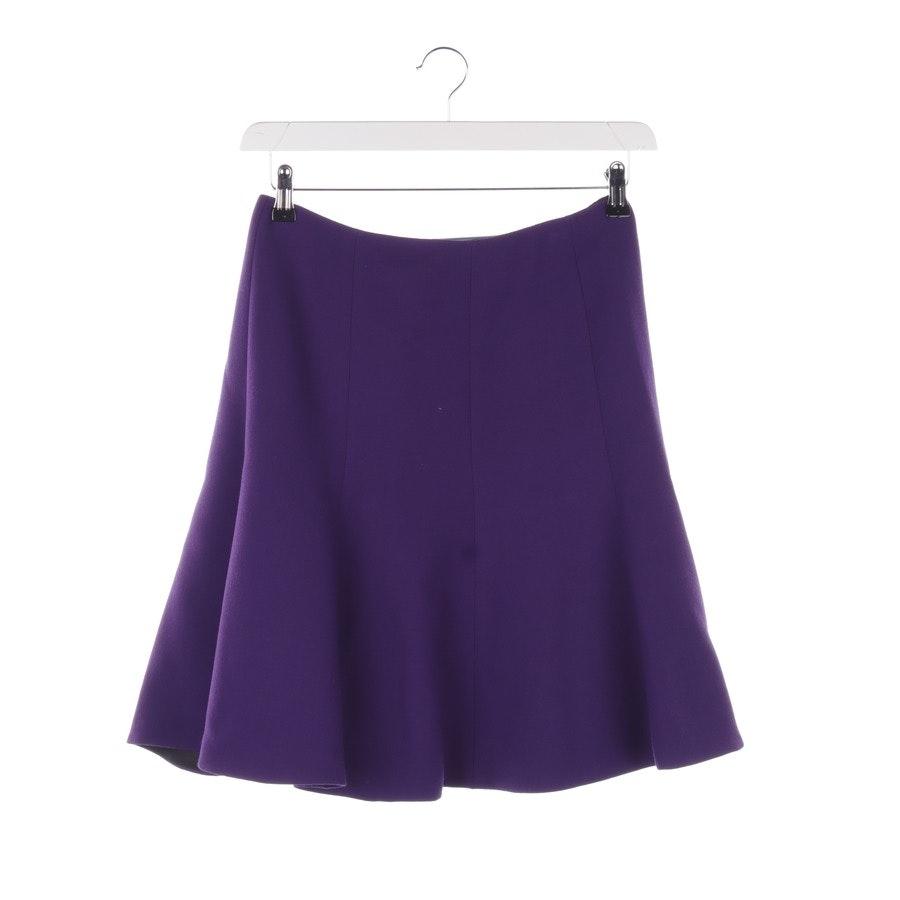 Skirt from Prada in Purple size 36 IT 42