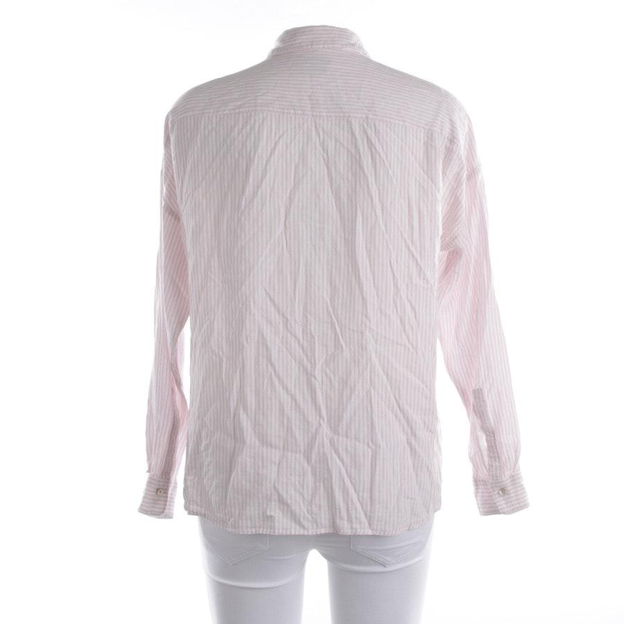 Bluse von Marc O'Polo in Weiß und Rosa Gr. 38