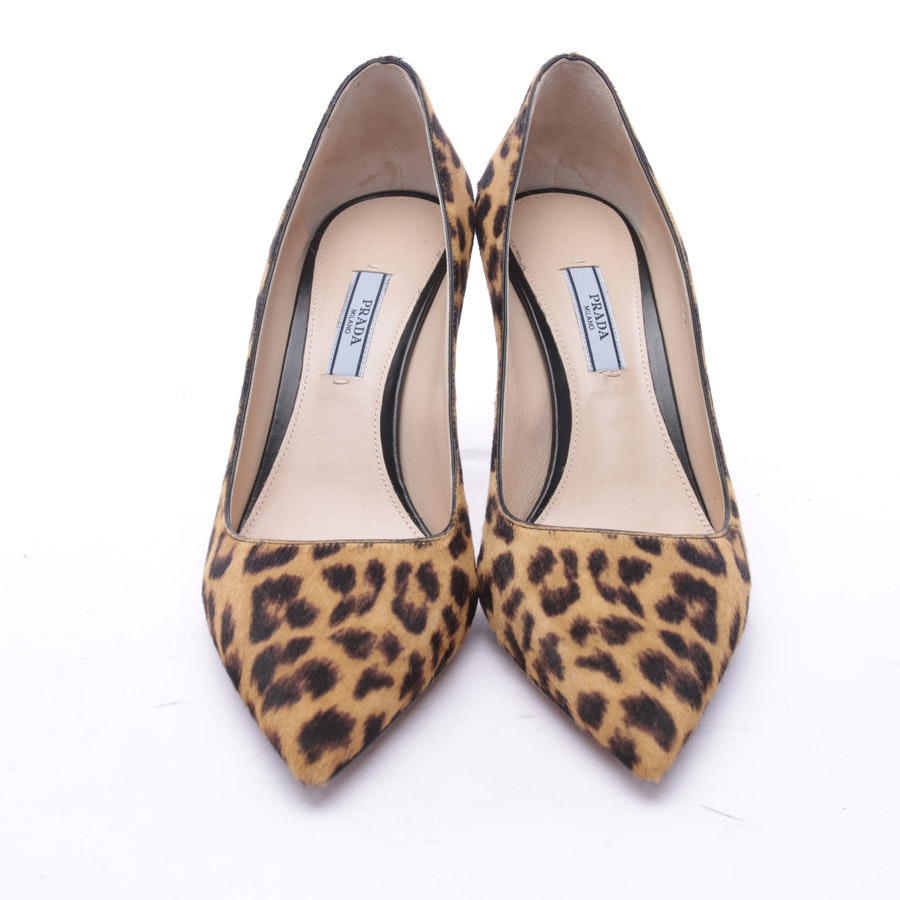 High Heels from Prada in Brown and Camel size 39 EUR New