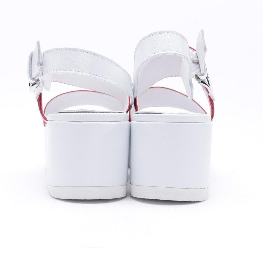 Sandalen von Kennel & Schmenger in Rot Gr. 40,5 EUR UK 7