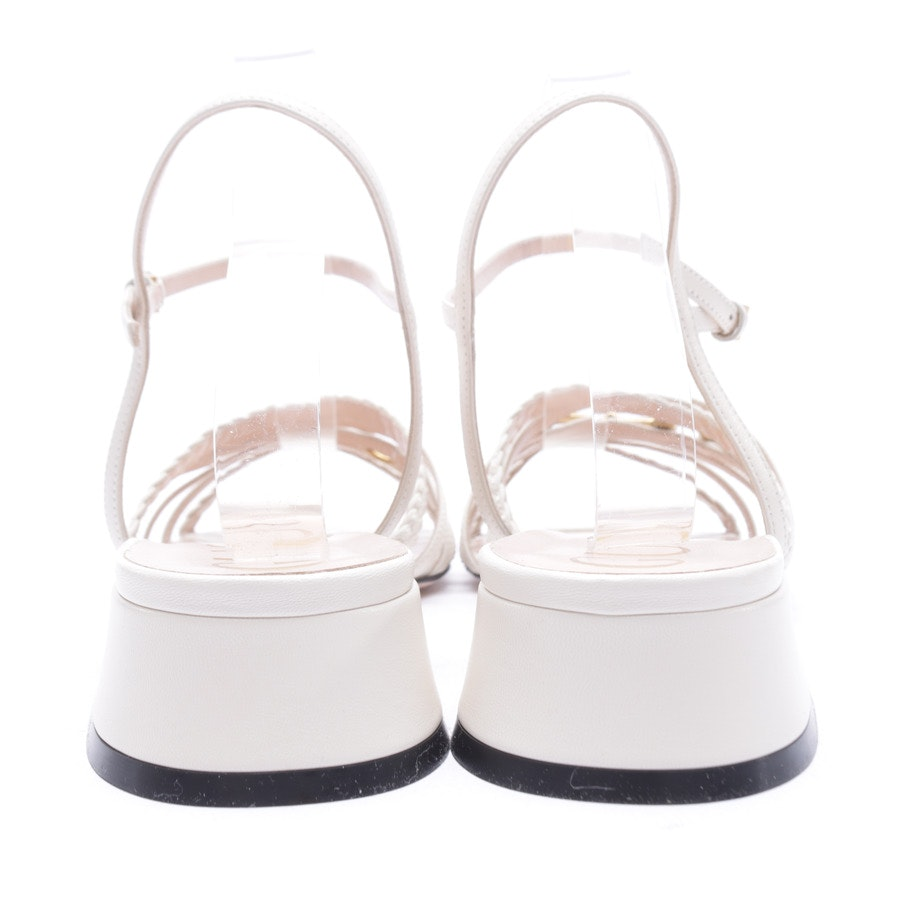 Heeled Sandals from Gucci in Beige size 41 EUR New
