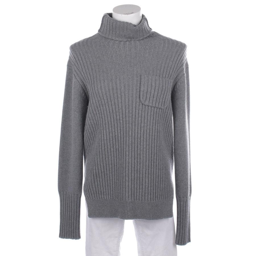 Wollpullover von Lareida in Grau Gr. L
