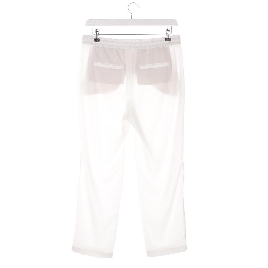 Hose von Marc Cain in Weiß Gr. 40 N4