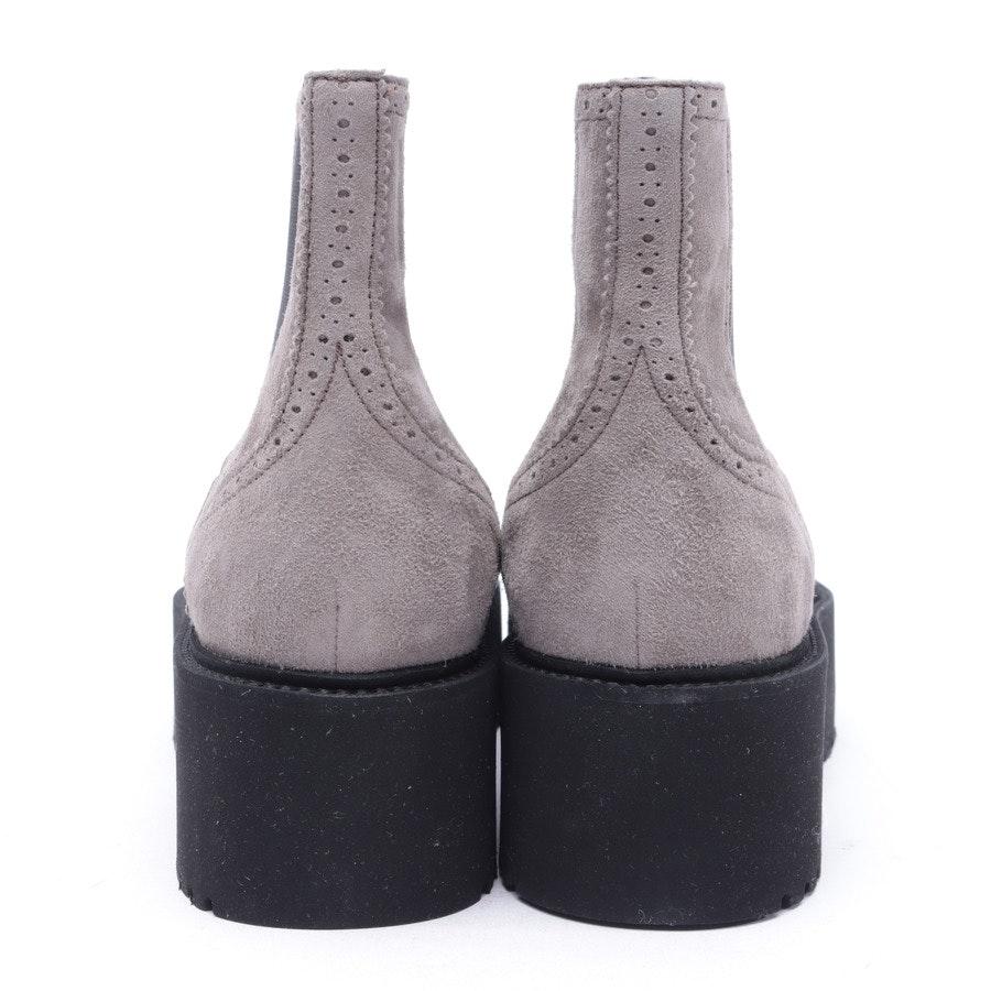Chelsea Boots von Hogan in Hellbraun und Schwarz Gr. 39 EUR Neu