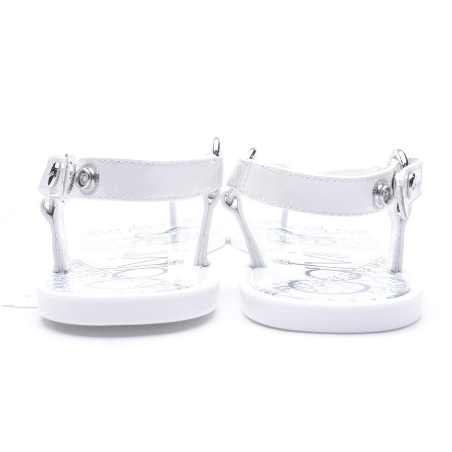 Sandalen von Calvin Klein in Weiß Gr. 36 EUR Neu