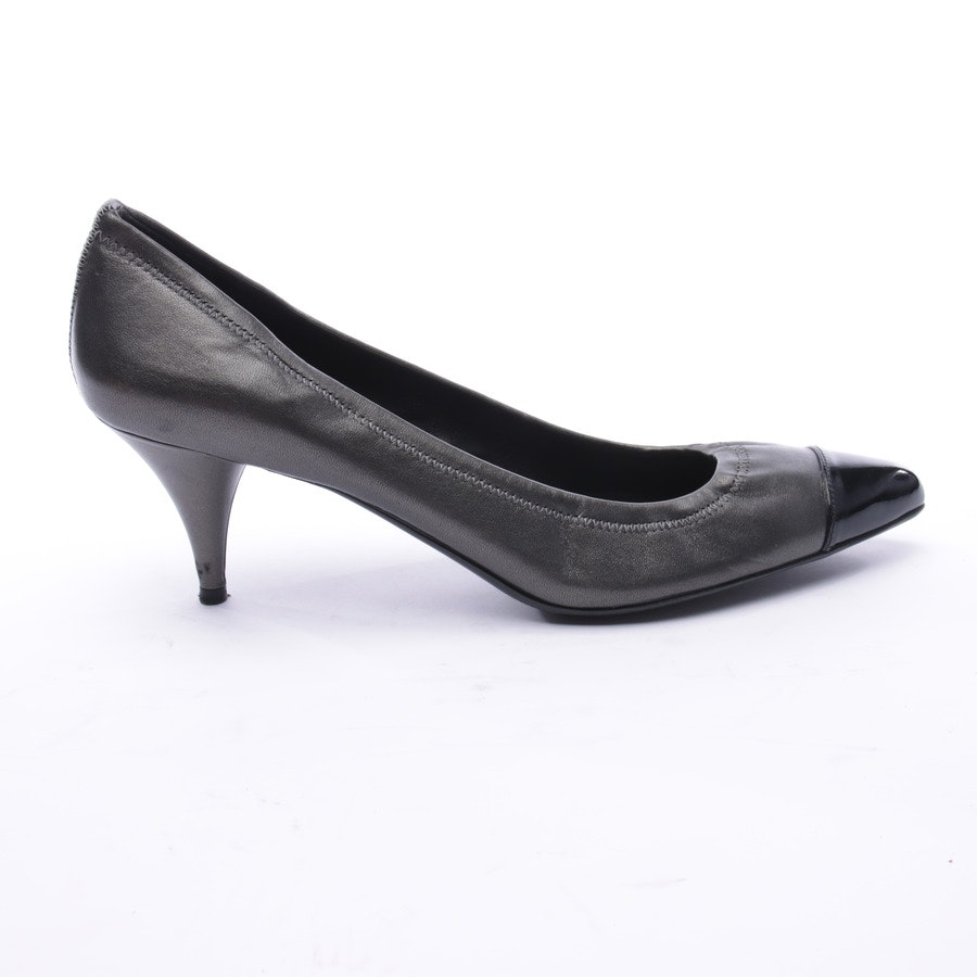 High Heels from Prada Linea Rossa in Anthracite size 40 EUR
