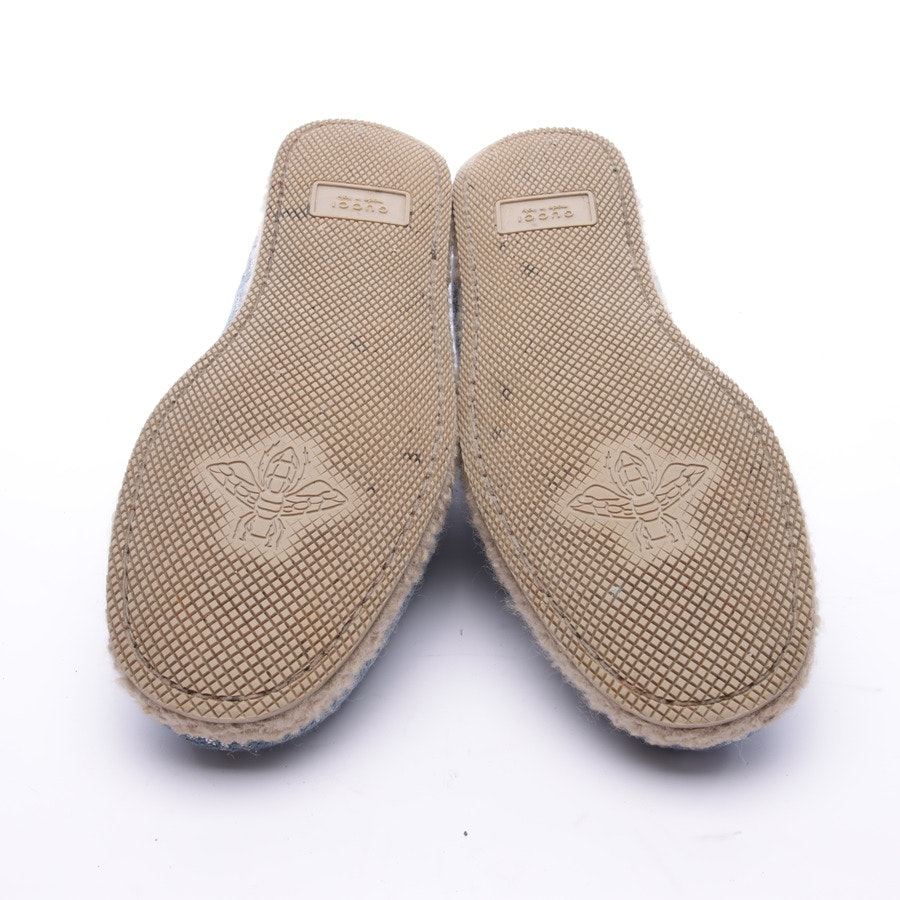Slippers from Gucci in Skyblue size 40 EUR