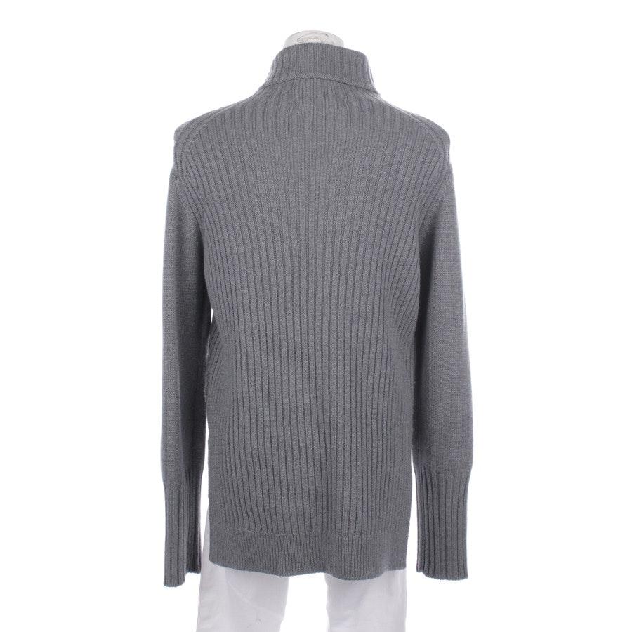 Wollpullover von Lareida in Grau Gr. M