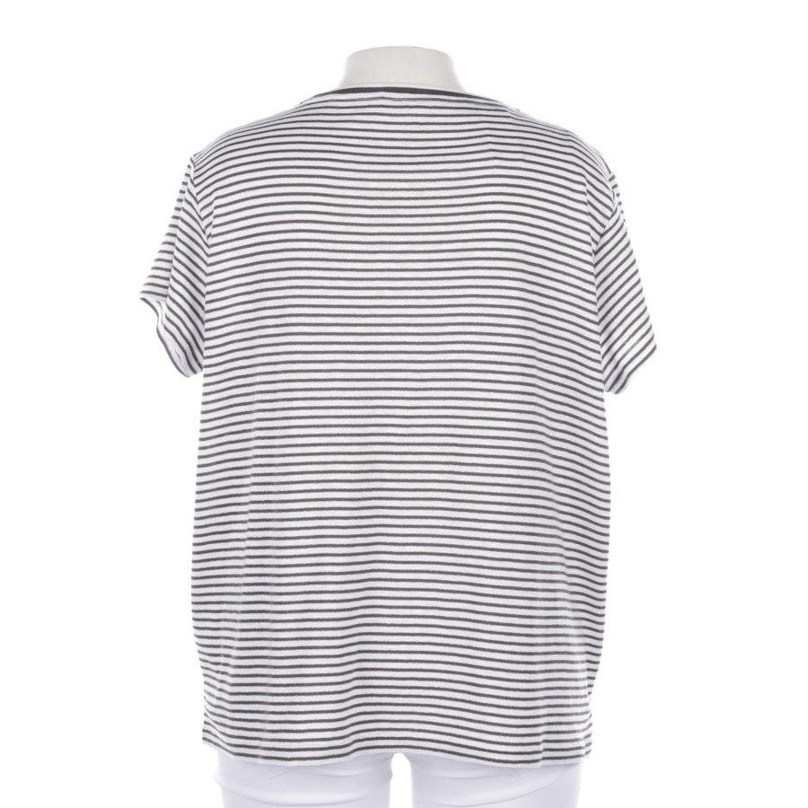 T-shirt von Bogner in Dunkles Olivgrün und Weiß Gr. 2XL