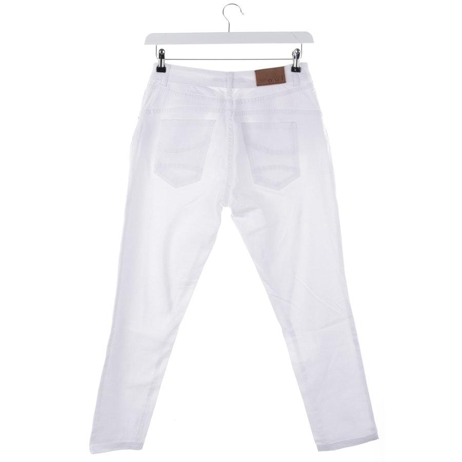 Jeans von Oui in Weiß Gr. 36