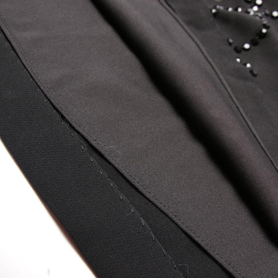 Seidenkleid von Diane von Furstenberg in Schwarz Gr. 36 US 6