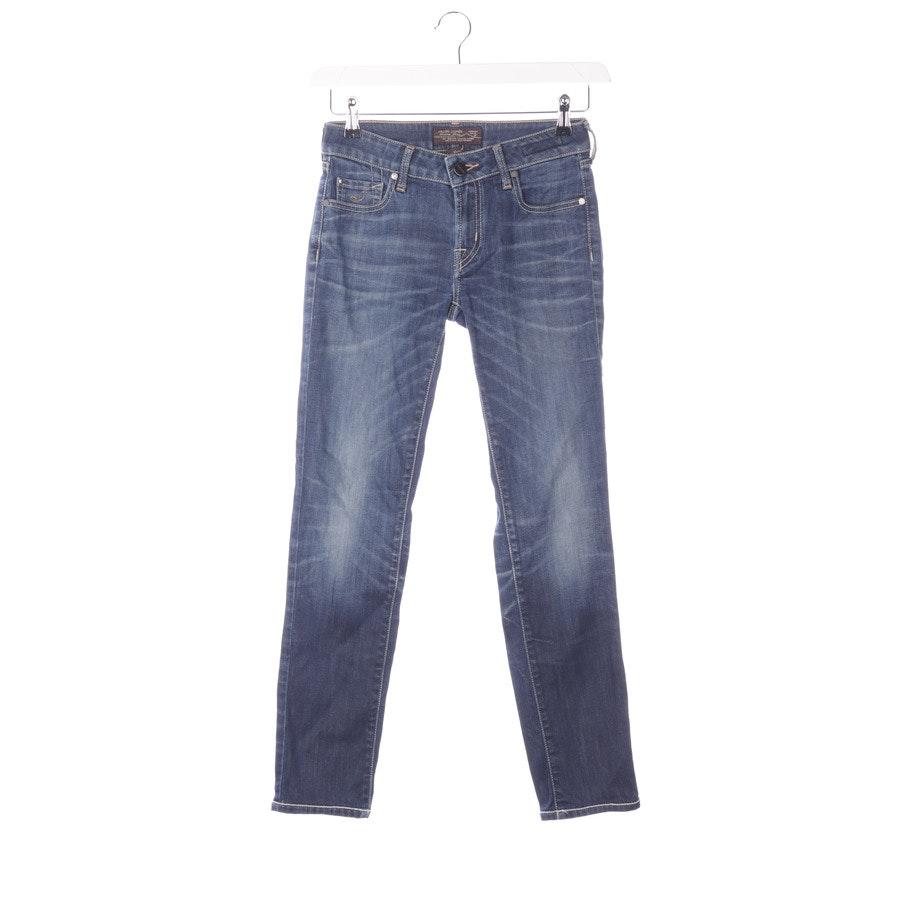 Jeans von Jacob Cohen in Stahlblau Gr. W26