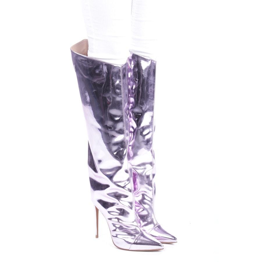 Stiefel von Alexandre Vauthier in Flieder Gr. EUR 41 - Neu