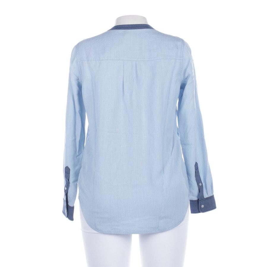 Bluse von Vince. in Hellblau und Stahlblau Gr. S