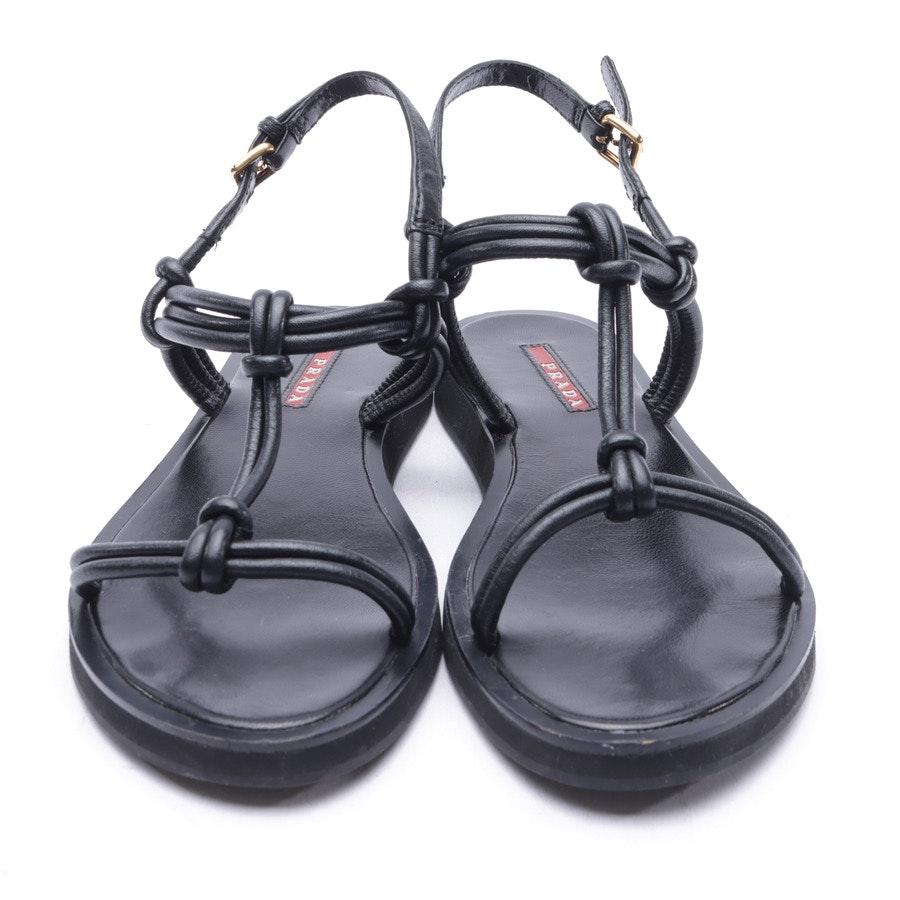 Sandals from Prada Linea Rossa in Black size 38 EUR