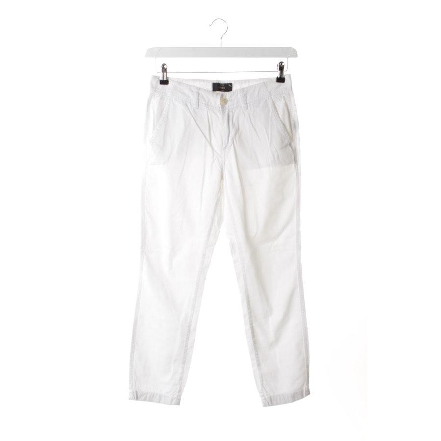 Hose von J.CREW in Weiß Gr. W24 / 00