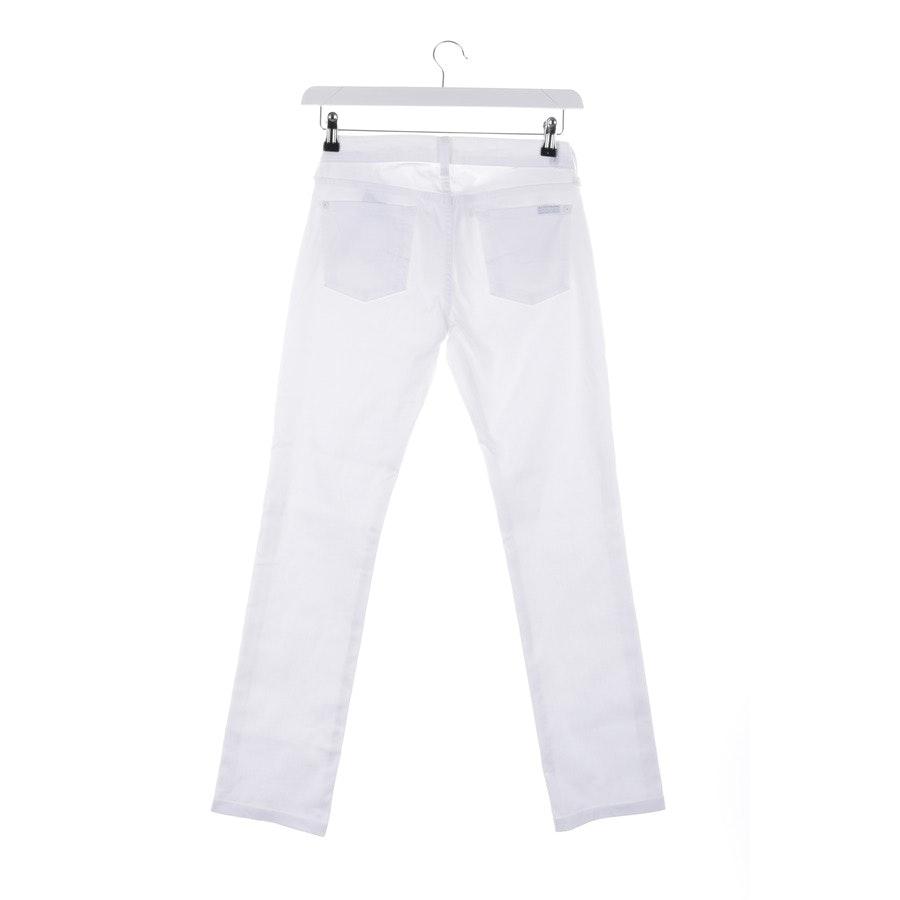 Jeans von 7 for all mankind in Weiß Gr. W26