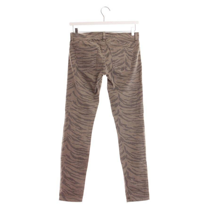 Jeans von Current/Elliott in Grün und Grau Gr. W26