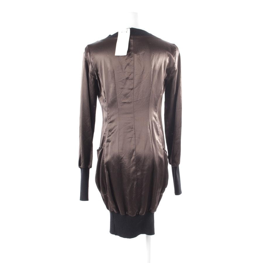 Kleid von Costume National in Dunkelbraun und Schwarz Gr. 36 IT 42 - Neu