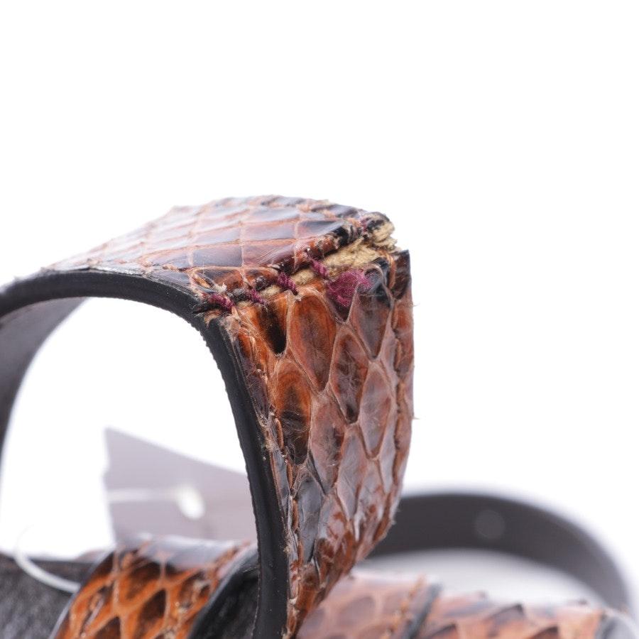 Schultertasche von Gucci in Braun - Osiride Python