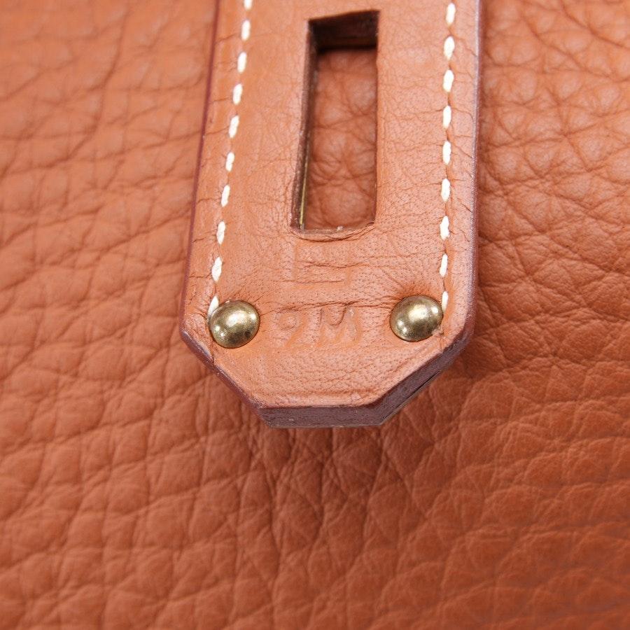 overnighter from Hermès in red-brown - birkin hac 45