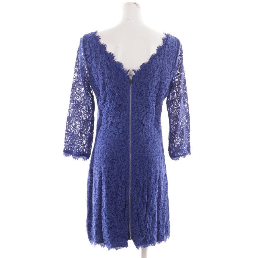 Kleid von Diane von Furstenberg in Blau Gr. 42 US 12 - Zarita