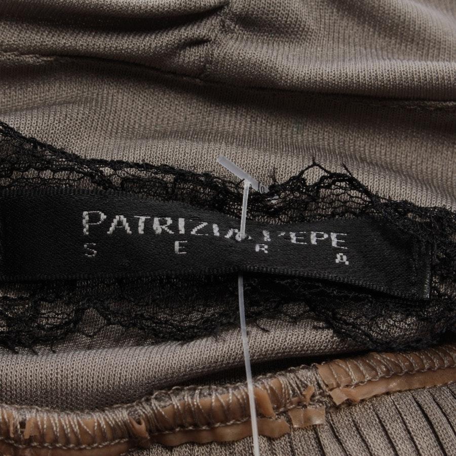 Trägerkleid von Patrizia Pepe in Graugrün Gr. 30 / 0