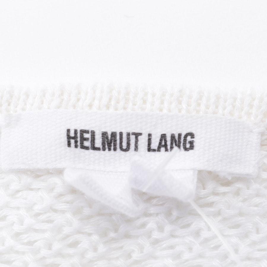 Leinenpullover von Helmut Lang in Weiß Gr. M