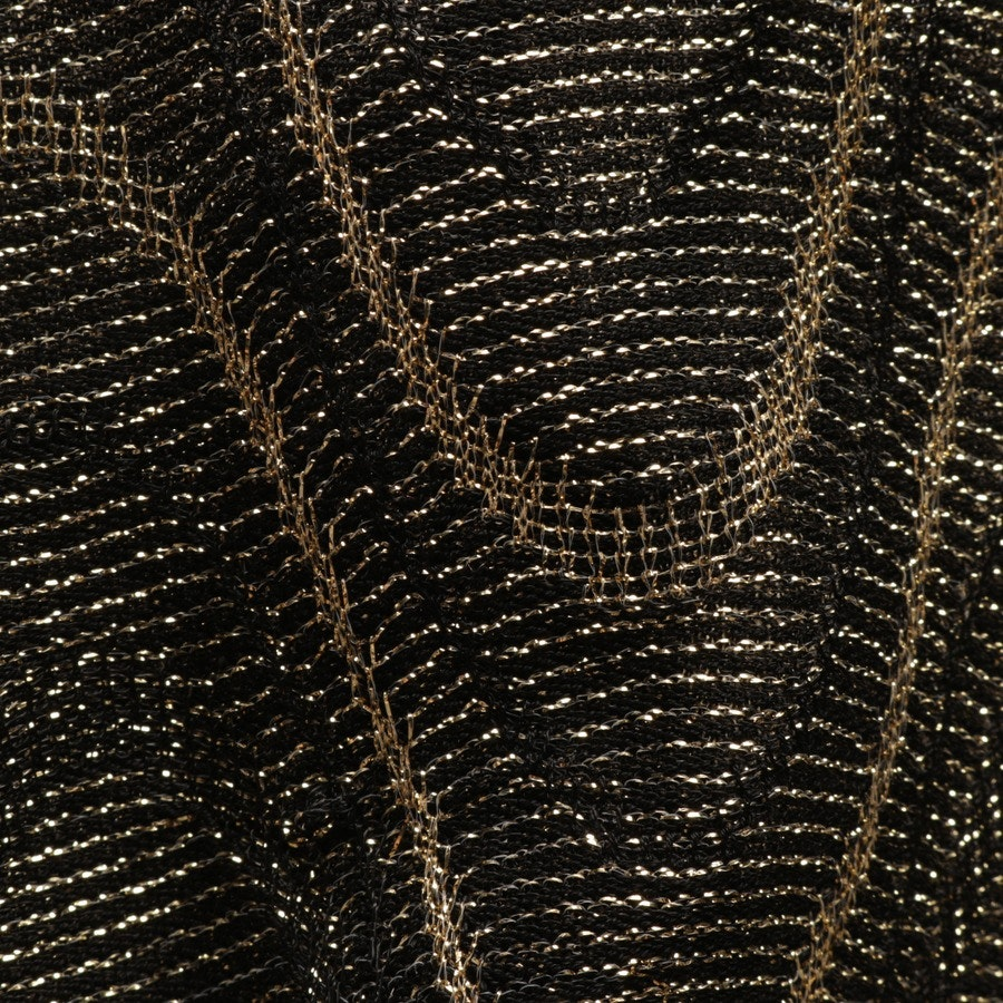 dress from Missoni M in black and gold size XS